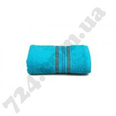 Махровое полотенце MISTERIA (бирюзовое) 50×90см