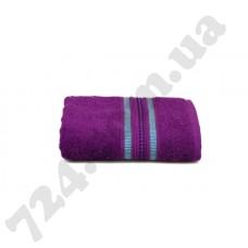 Махровое полотенце MISTERIA (сливовое) 50×90см