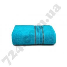 Махровое полотенце MISTERIA (бирюзовое) 70×130см