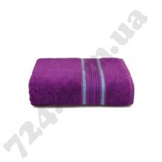 Махровое полотенце MISTERIA (сливовое) 70×130см