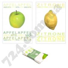 """Набор полотенец из двух штук принт """"Яблоко/Лимон"""", 40х60см"""