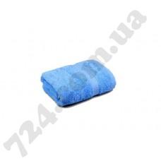 """Полотенце махровое гладкокрашеное с бордюром """"Homeline"""", 40х70см, 400г/м2 (синее)"""