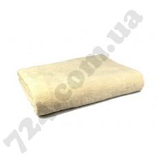 Простынь махровая, 150х200см, 400г/м2 (кремовая)