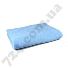 Простынь махровая, 150х200см, 400г/м2 (голубая)