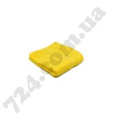 """Полотенце махровое гладкокрашеное с бордюром """"Homeline"""", 40х70см, 350г/м2 (желтое)"""
