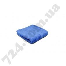 """Полотенце махровое гладкокрашеное с бордюром """"Homeline"""", 40х70см, 350г/м2 (голубое)"""