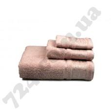 """Полотенце махровое """"Вамвоо"""", 70х140см, 500г/м2, (розовое)"""