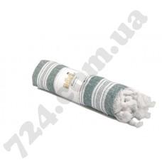 Полотенце хлопковое Полоска с кисточками, 95х170 (зелёное)