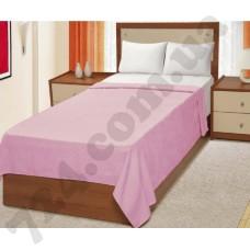 Простынь велюровая Руя (розовая), 200х220