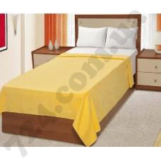 Простынь велюровая Руя (желтая), 200х220