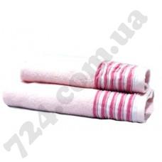 "Полотенце махровое ""Eirene"", 70х140см, 500г/м2 (розовое)"