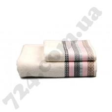 Полотенце махровое Этно (кремовое), 70х140см