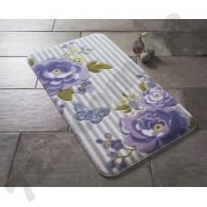 Коврик для ванной Confetti Roses Purple 80*140