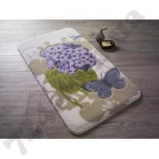 Коврик для ванной Confetti Pia Purple 80*140