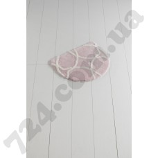 Коврик для ванной Chilai Home Bonne Oval Pink 50*60