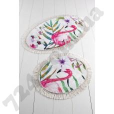 Набор ковриков для ванной Chilai Home Flam Djt