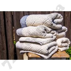 Полотенце махровое Buldans - Knidos Brown 50*90
