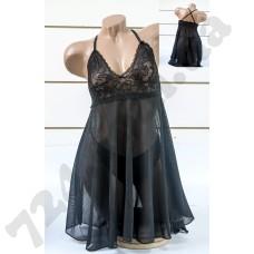 Домашняя одежда Lady Lingerie - 3912 M эротическое белье черный