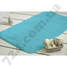 Коврик для ванной Confetti - Miami turkuaz бирюзовый 60*100