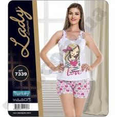 Домашняя одежда Lady Lingerie - 7339 M комплект