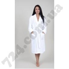 Домашняя одежда Tac - Халат махра бамбук Maison 3D fildisi белый 2XL/3XL