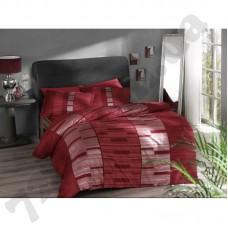 Постельное белье Pierre Cardin - Velvet красный сатин евро