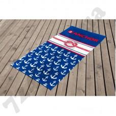 Полотенце Lotus пляжное - Knot 75*150 велюр