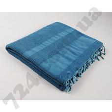 Плед-накидка Barine - Stone Throw denim синий 140*170