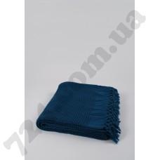 Плед-накидка Buldans - Bohem denim синий 180*240