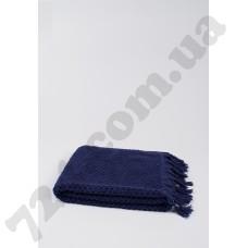 Полотенце махровое Buldans - Cakil Navy синее 90*150