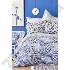 Набор постельное белье с покрывалом пике Karaca Home - Milena 2018-2 евро