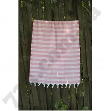 Полотенце Lotus Pestemal - Pink 06 75*150 Hard stripe