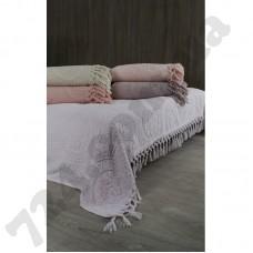 Простынь махровая Oliva Home - Pembe розовый 200*220