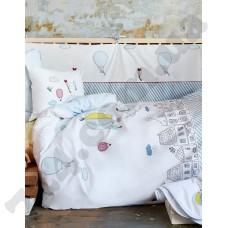 Постельное белье для младенцев Karaca Home - Balloon 2018-1 аппликация