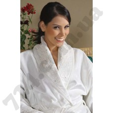 Халат махровый с полотенцем Begonville - Santis крем S