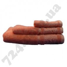Полотенце Nobrand BAMBOO 50х90 оранжевое (127247)