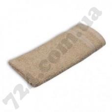 Полотенце Nobrand 30х30 коричневое (пл 400) I (129659)