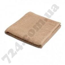 Полотенце Пакистан 50х90 светло-коричневое (пл 400) (131699)