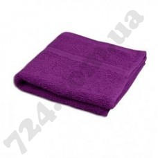 Полотенце Пакистан 50х90 фиолетовое с кантом (пл 400) (131693)