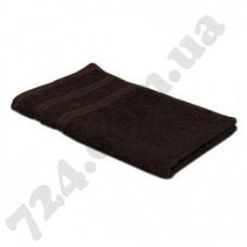 Полотенце Nobrand 30х30 темно-коричневое (пл 400) I (129660)