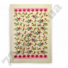 Полотенце кухонное махровое Akipek 44Х66 Цветы (138308)