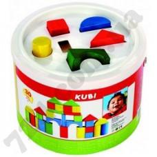 Кубики в ведерке Bino (30 дет.)