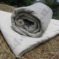 Одеяло льняное 155х210 (ткань хлопок) Lintex