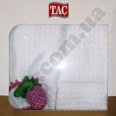 Набор полотенец TAC 3D 2 шт.(40х70) PLUM